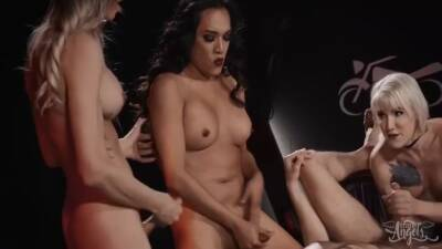 Casey Kisses, Jessica Fox And Lena Moon - Motorcycle Club Part 3