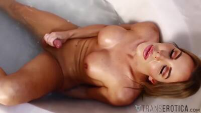 Cute Tbabe Solo Wanking Her Cock - Marissa Minx