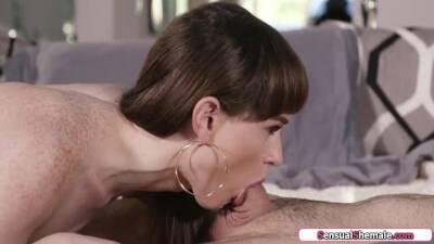 Small Tits Shemale Barebacks Her Horny Husband With Natalie Mars