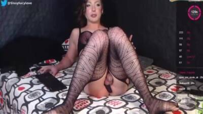 Sissy Lucy Gets Spanked In Chastity 7 Min