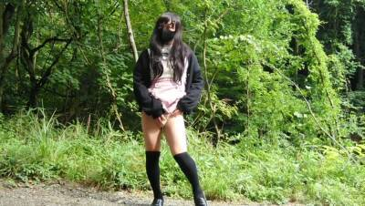 Transgender Outdoor Masturbation is likely to be Witnes
