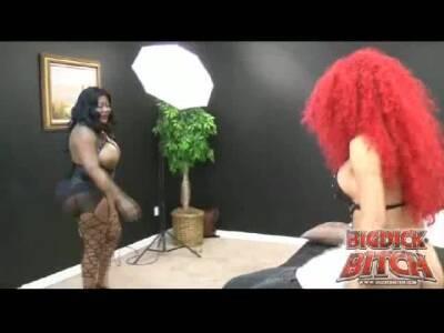 BigDickBitch, Sasha Strokes and slave