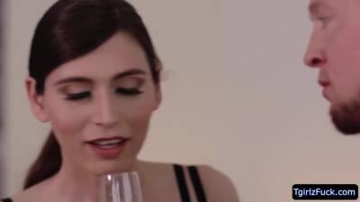 Slender ts cutie Korra Del Rio takes Pierce Paris cock