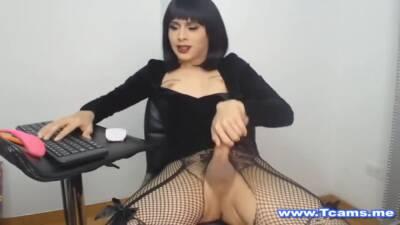 Masturbating While Legs Wide Open